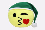 Emoji Holiday Pillow