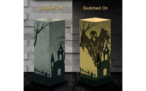 3D Halloween Decorative Paper Lamp