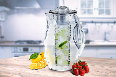 INFUZE H2O Fruit-Infuser Water Pitcher 2.5L