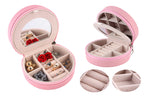 Mini Travel Jewelry Case & Organizer
