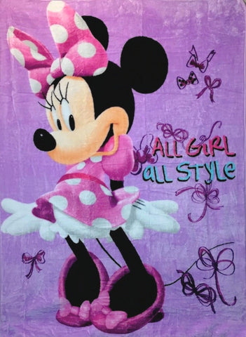 Disney Minnie Mouse Silk Touch Blanket