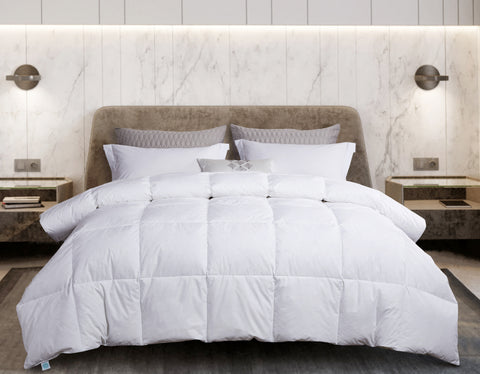Martha Stewart White Goose Feather & Down Comforter