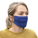 3pc Pleated Washable Face Mask Sets