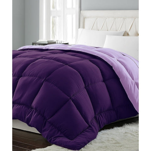 Microfiber Color Reversible Down Alternative Comforter