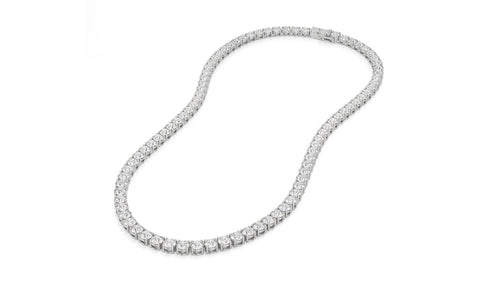 58.0 Carat Brilliant Cut Tennis Necklace