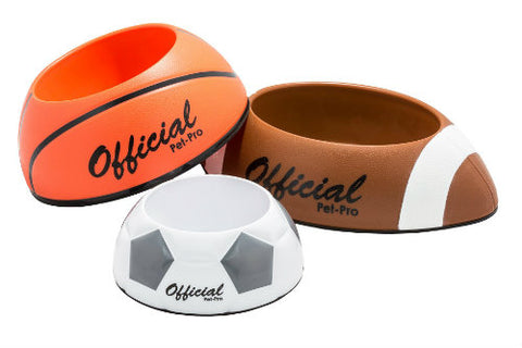 Pet Pro Sports Food and Water Bowls