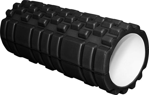 "Werk It! Fitness Training 13"" Grooved Foam Gym Roller"