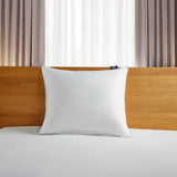 Serta White Down Fiber Bed Pillow- Back Sleeper
