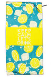 Premium Beach Towel w/ Pocket