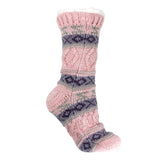 Women's Shea Butter and Rose Oil Infused Knit Reading Socks