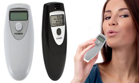 LED Display Personal Digital Breathalyzer Alcohol Tester