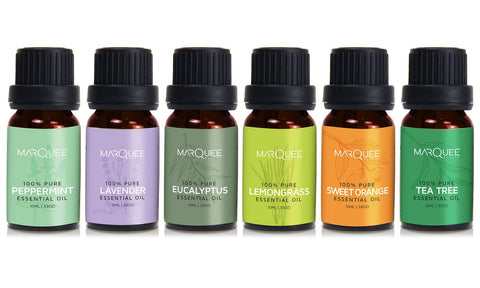Marquee Beauty Essential Oil Set (6-Piece)