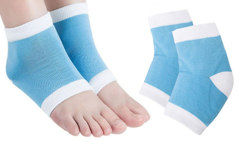 Hydrating Gel-Lined Heel Socks