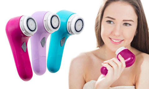 Facial and Body Cleansing and Exfoliating Brush
