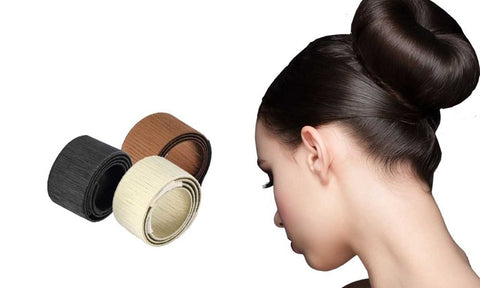 Effortless Professional Hair Bun Maker (3-Pack)