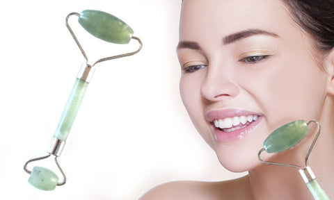 Natural Jade Anti-Aging Facial Massage Roller
