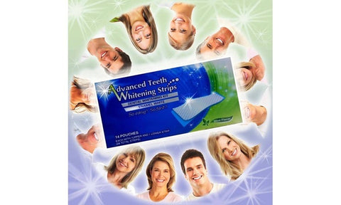 Advanced Teeth Whitening Strips - 28 Strips