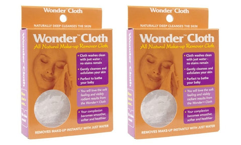 Wonder Cloth Makeup Remover Cloth ( 2-Pack)