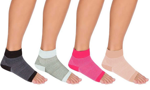 Unisex Plantar Fasciitis Compression Socks (1 Pair)
