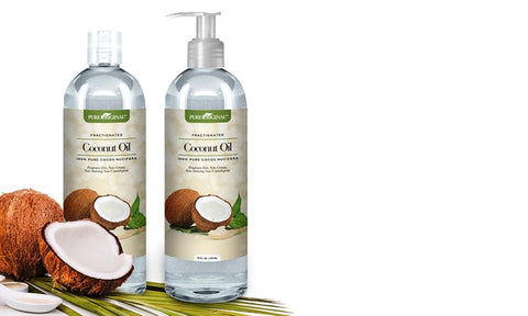 Pure Fractionated Coconut Oil 2 Pack