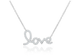 "Swarovski Elements ""infinite Love"" Pendants"