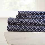 Home Collection Premium Ultra Pattern 4 Piece Bed Sheets Set
