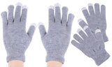 4 Pack Touchscreen One Size Fits Most Gloves