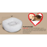 Deco Pet Plush, Bolstered, Cuddle Pet Orthopedic Bed