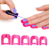 Nail Polish Application Protectors Stencil Kit (26-Piece)