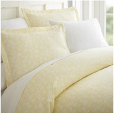 Home Collection Premium Ultra Soft Wheatfield Pattern 3 Piece Duvet Cover Set