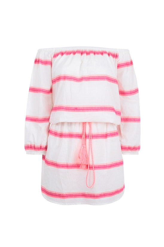 BARDOT IN PINK STRIPE