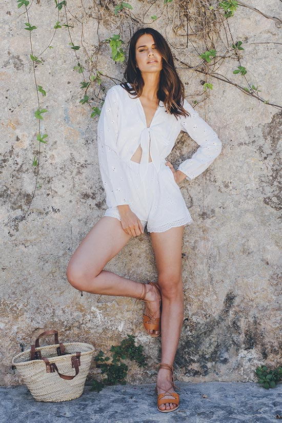 BLANCO PLAYSUIT