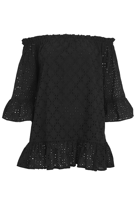 PROVENCE TUNIC IN BLACK