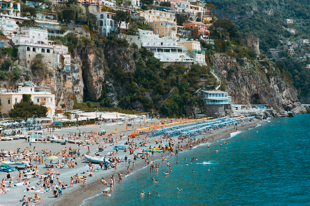 PAMPELONE x CLAIRE MENARY PHOTOGRAPHY 'SATURDAY IN POSITANO'