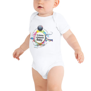 """I'm Raising a Science Baby"" Onesie"
