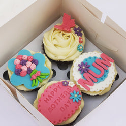 Mother's Day Cupcake Box of 4 or 6