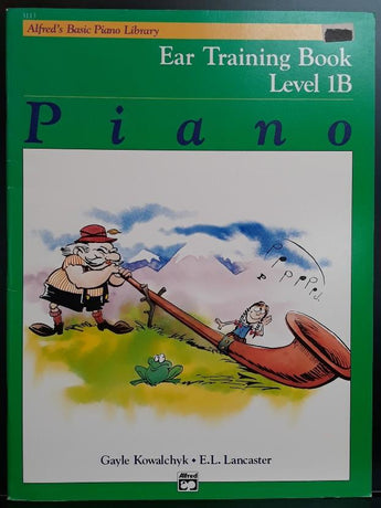 Alfred's Basic Piano Library; Ear Training Book - Level 1B - CB Music Centre
