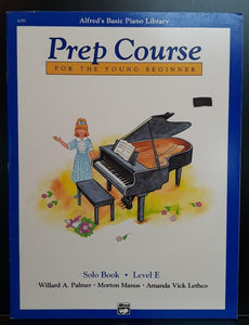 Alfred's Basic Piano Library (Prep Course) Solo Book - Level E - CB Music Centre