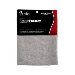 Fender® Factory Microfiber Cloth, Gray - CB Music Centre