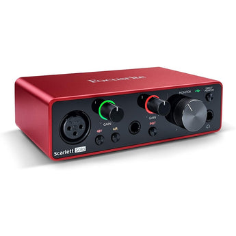 Focusrite Scarlett Solo 3rd Gen USB Audio Interface - CB Music Centre