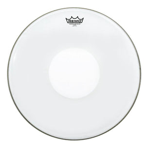 "Remo CS-0315-00 15"" Controlled Sound White Dot Batter Drum Head - CB Music Centre"