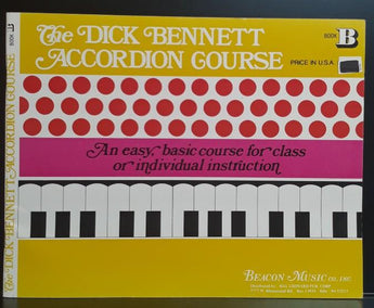 The Dick Bennett Accordion Course - CB Music Centre