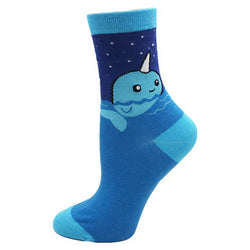 Animal - Blue Sea Novelty Socks