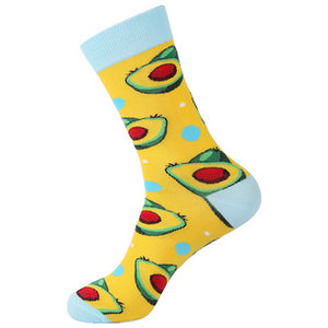 Avocado - Let's Avocado Novelty Socks