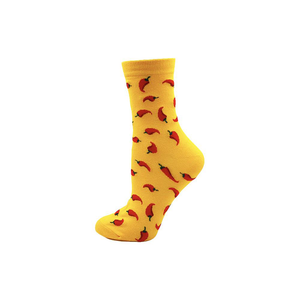 Chili - Yellow Chili Novelty Socks