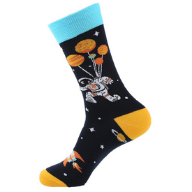 Space - Up Up And Away Novelty Socks