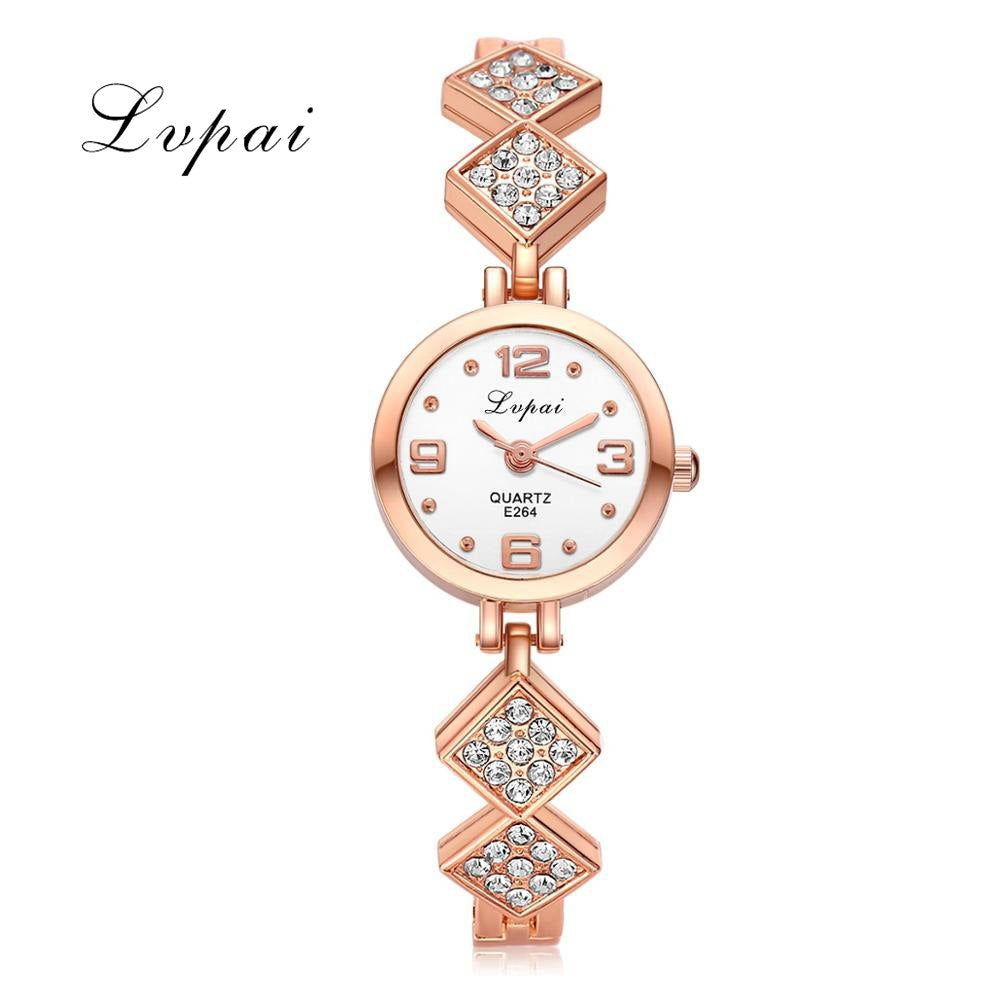 wrist leather watch casual watches analog fashion crystal womens pinterest diamond s best montre quartz female women images on