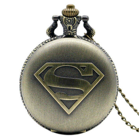 Montre de poche Superman