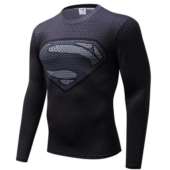 Tee Shirt Super Héros Homme Seconde Peau