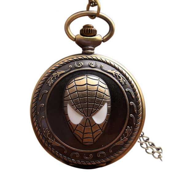 Montre de poche Spiderman
